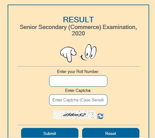 RBSE 10th Results 2021